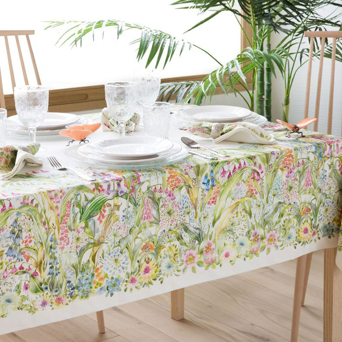 Exceptionnel Spring Table Decorations Floral Tablecloths Table Centerpieces Spring