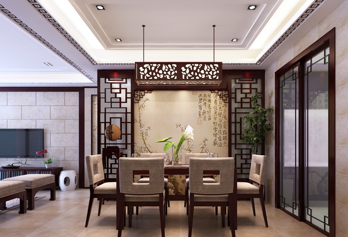 Asian-Style-Modern-Dining-Room