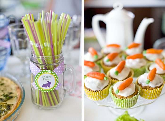 Easter-Muffins-With-Carrots-Handmade-Table-Decoration