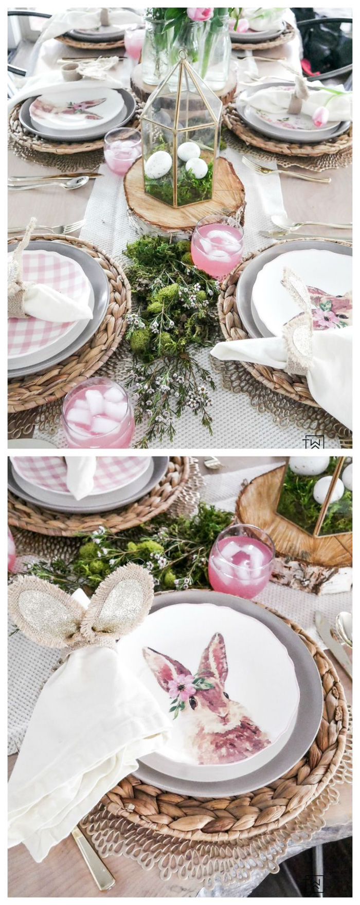 Easter-Table-Decoration-Ideas-Handmade-Centerpiece