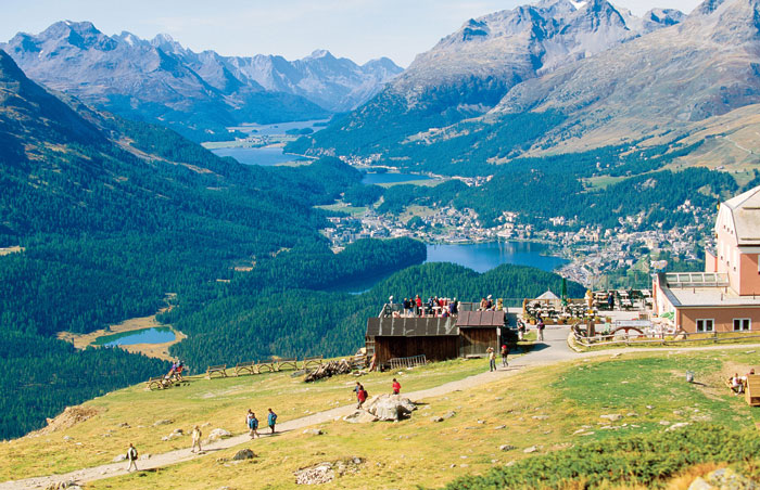 Engadine-Valley-Switzerland-Mountain-bike-tour