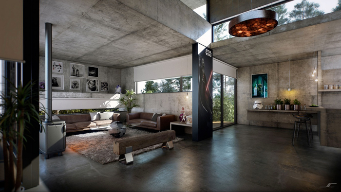 Industrial-Style-Ideas-Industrial-Living-Room