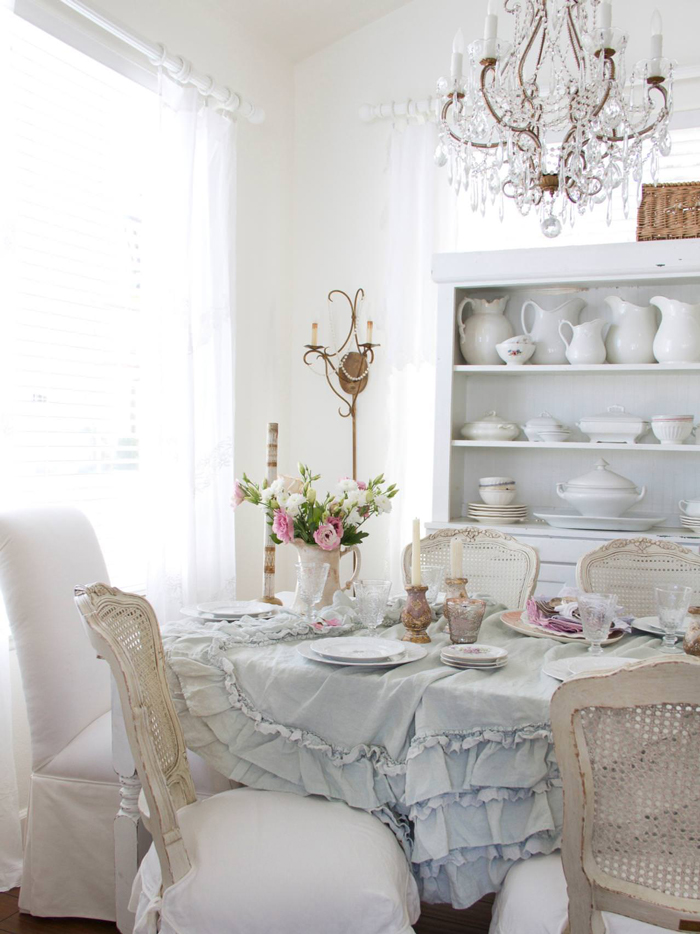 Shabby-Chic-Ideas-for-Table