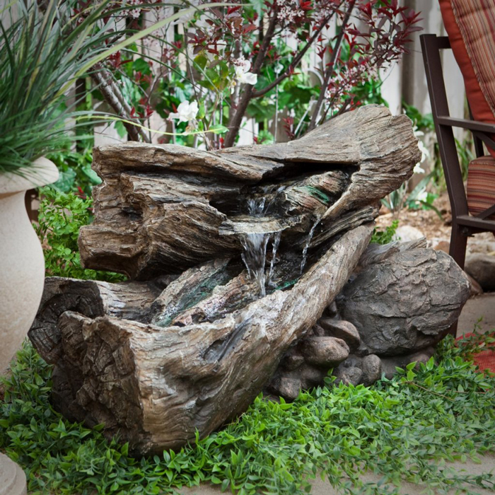 Small-Wooden-Garden-Waterfall