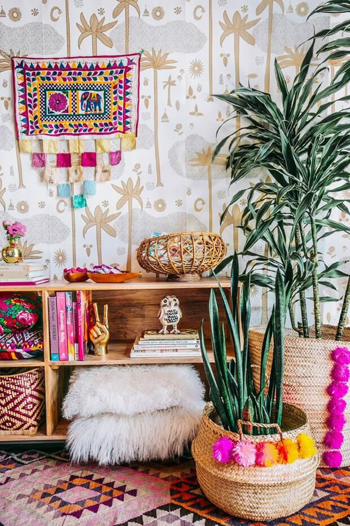 Design ideas for dreamy boho home d cor pre tend magazine - Boho chic deco ...