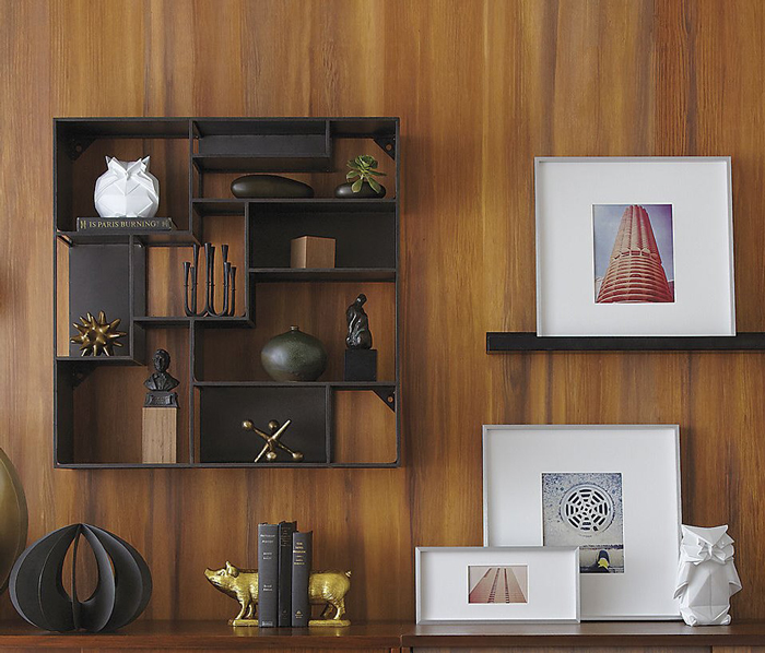 industrial-style-bookcase industrial decor