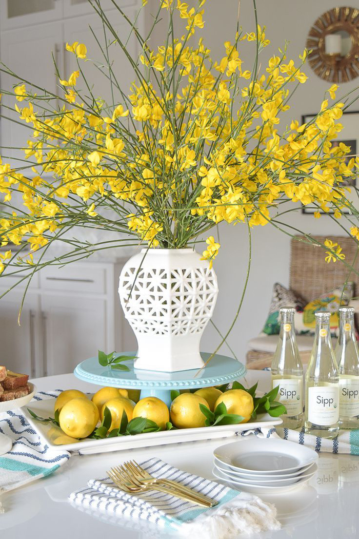 lemon-spring-table-centerpiece