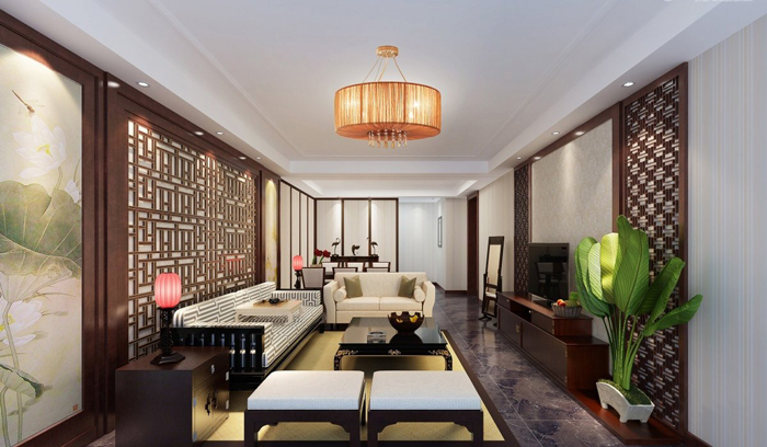 modern-interior-design-inspired-by-Asia-Oriental-living-room