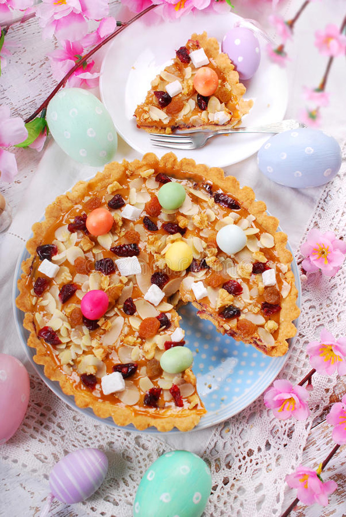 Easter-Traditions-Traditional-Polish-Easter-Cake-butterscotch-cake-mazurka