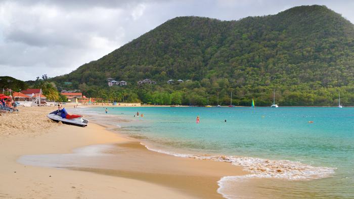 Reduit Beach St. Lucia Popular Summer Destinations