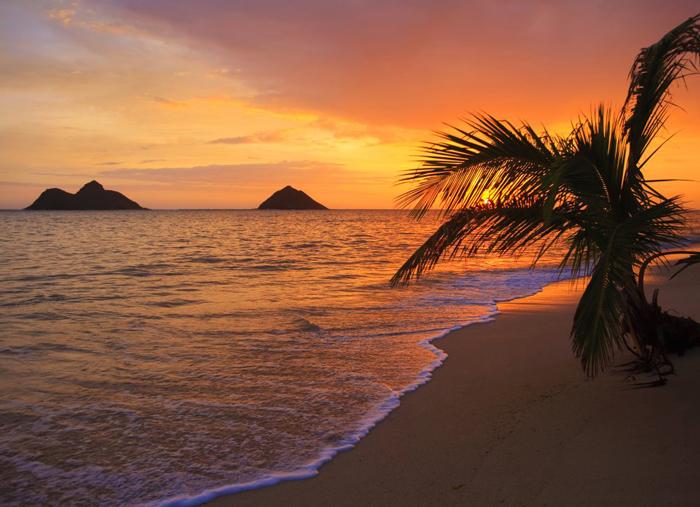 hawaii-sunset-beach-beach-destinations