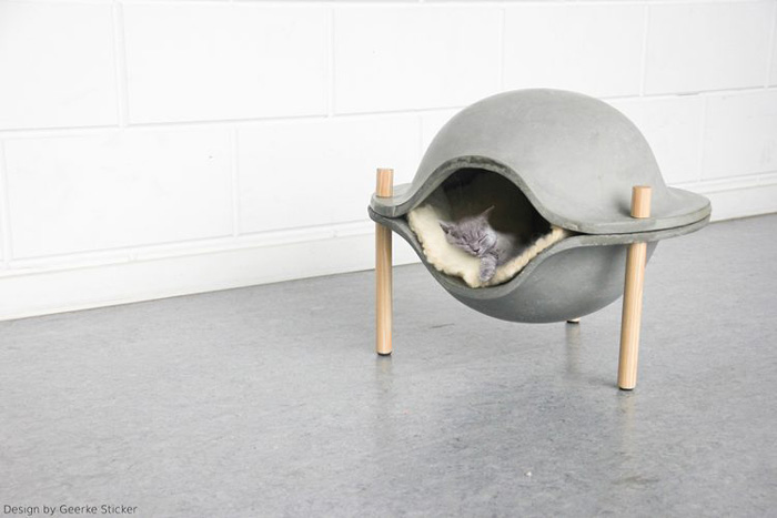 Modern-Cozy-Cat-Bed
