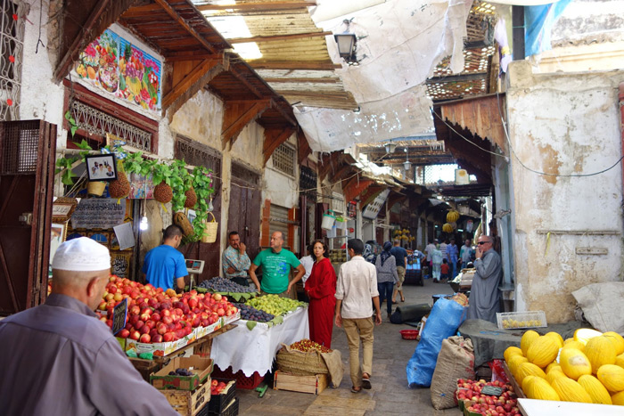 Fez-Market-Fez-Marocco-World-Trade-Trading-Place