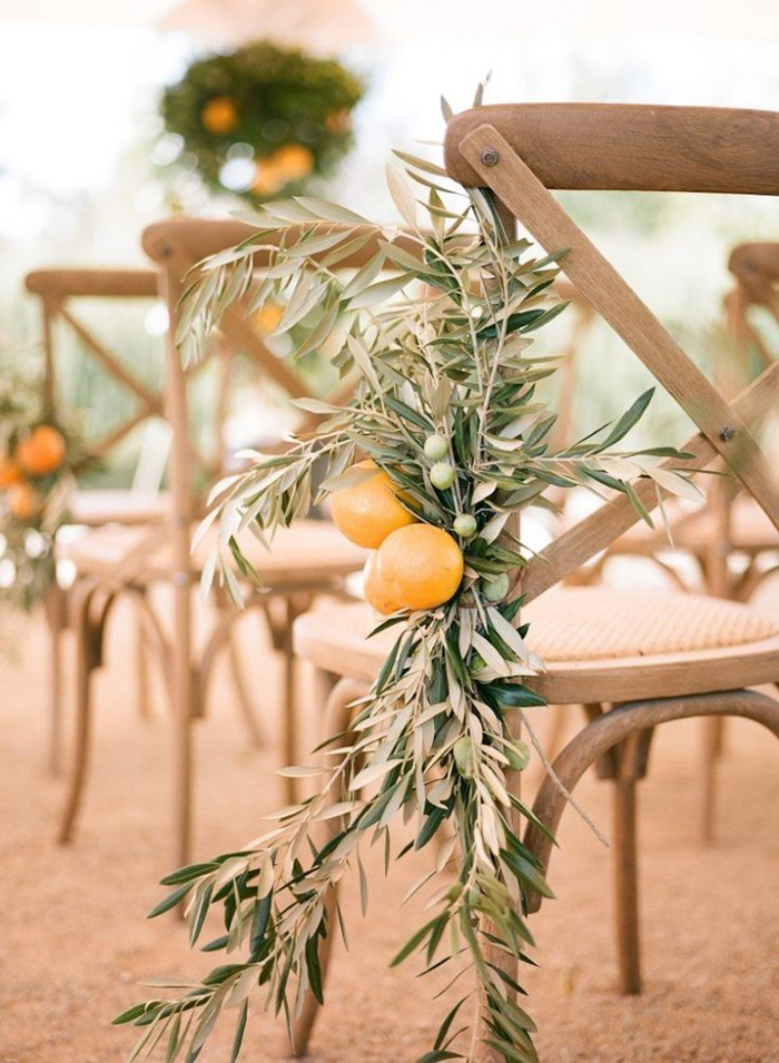 Garden-Wedding-Chair-Decoration-Ideas-Lemon-Decoration