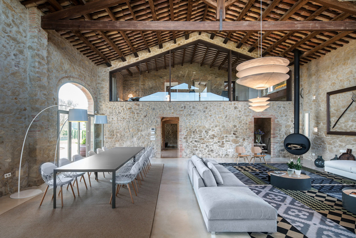 Mediterranean-Country-Stone-House-Design