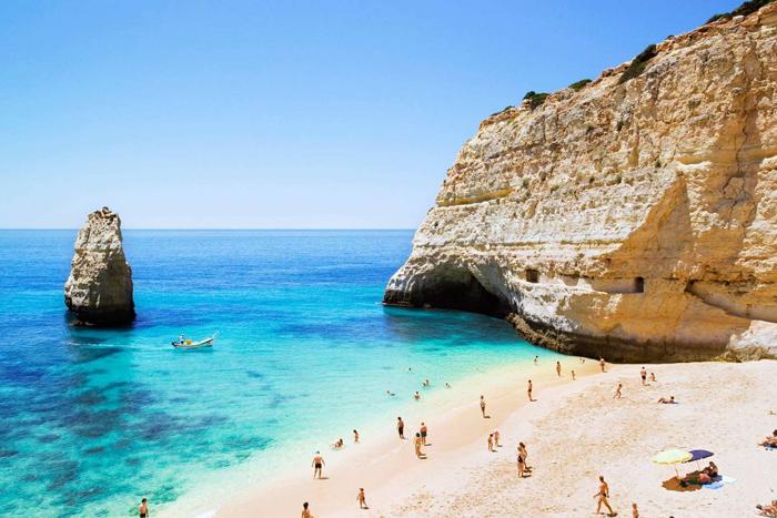 Portugal-Albufeira-Beach-mediterranean-beach-vacations