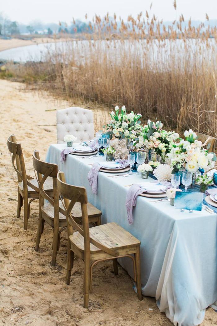 Inspiring summer wedding dcor pre tend be curious travel seaside wedding decor ideas summer wedding junglespirit Images