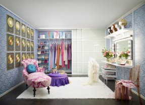 Walk in Dressing Room from the Dreams