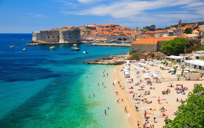 mediterranean-beach-vacations-dubrovnik-beach