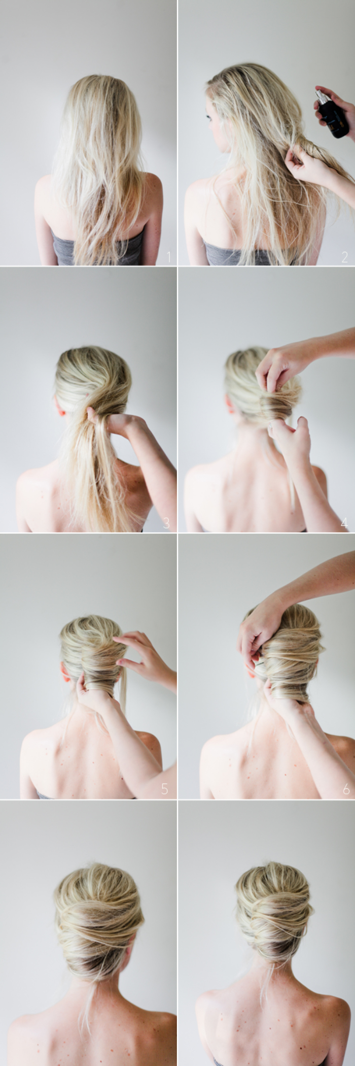 Beautiful-French-Twist-Blonde-Woman