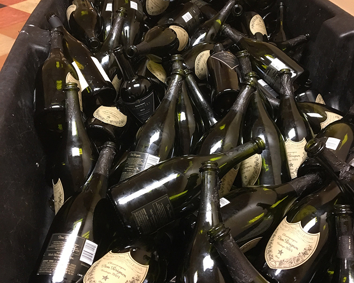 Champagne-bottles-dom-perignon-New-Years-Eve-Las-Vegas