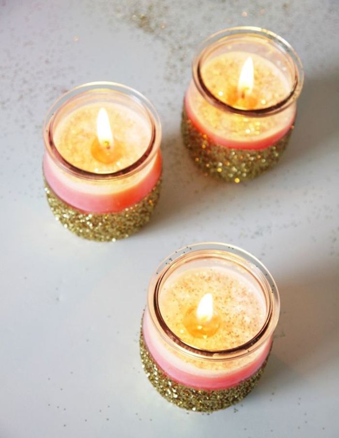DIY-Christmas-Home-Decoration-Sparking-Candles
