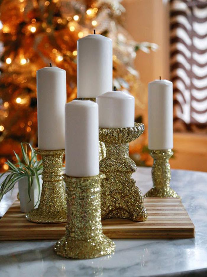 DIY-gold-glitter-candlesticks