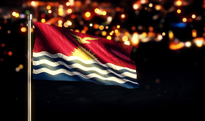 Flag-of-Kiribati-new-year-celebration