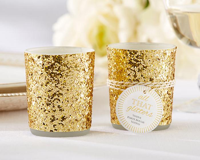 Golden-Glitter-Candlestick-for-Christmas