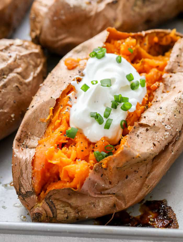 High-Energy-Food-Baked-Sweet-Potato