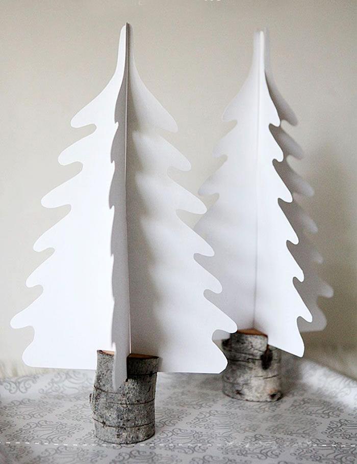 Paper-Tree-Holiday-Home-Decor-Idea