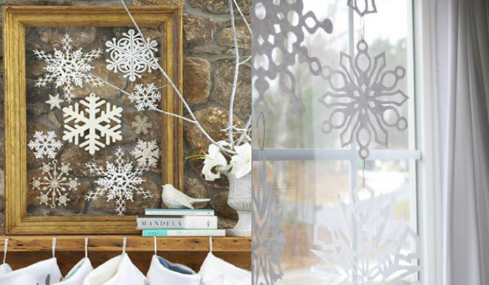 Snowflakes-in-frame-Holiday-House-Decoration