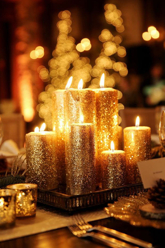 Sparking-Christmas-Candle-Decoration