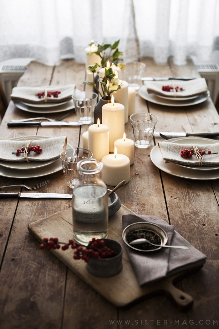 Vintage-Decorating-Ideas-for-Table-Retro-Look