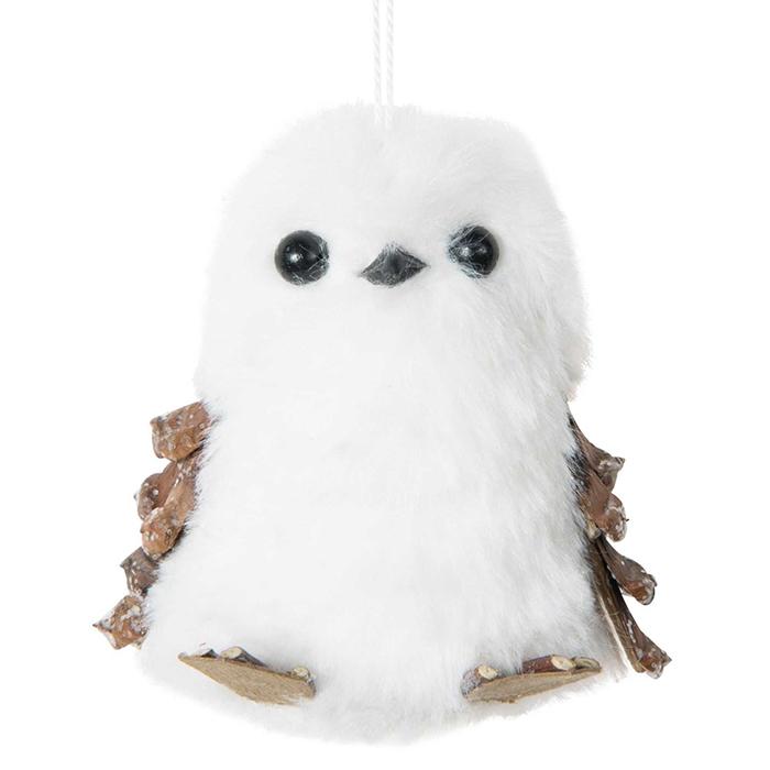 White-Owl-Hanging-DIY-Christmas-Decoration