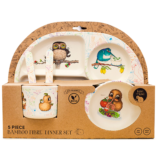 Bamboo-Fibre-Kids-Dinnerware-Set-Eco-Friendly-Christmas-Gift-Ideas