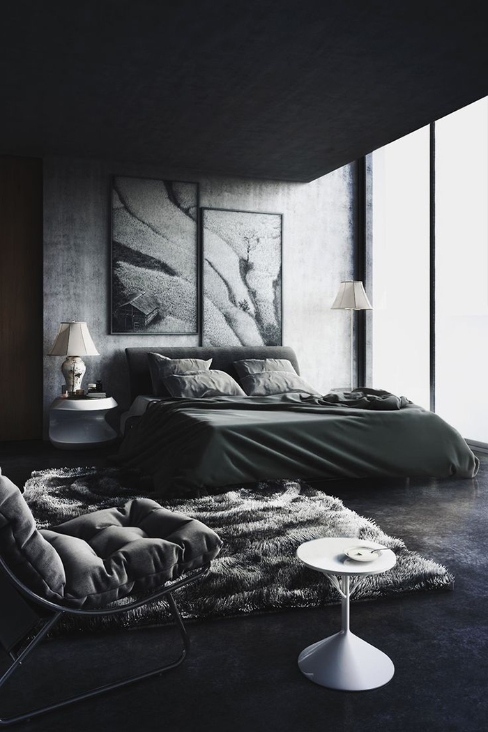 Black-Bedroom-Patterns-Interior-Design-Inspiration