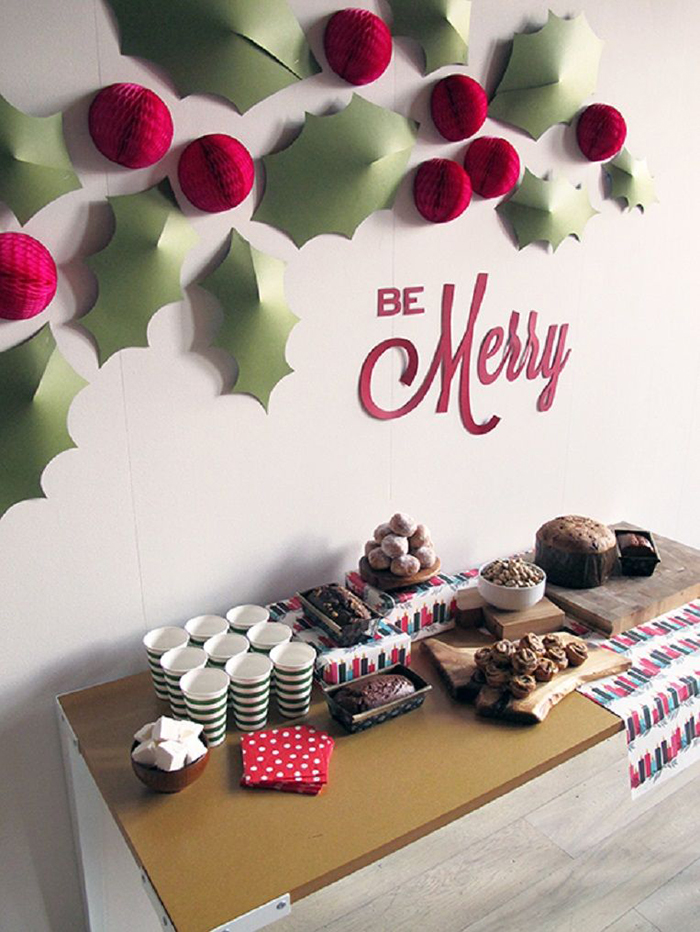 Christmas Diy Wall Decor Ideas Pretend Magazine