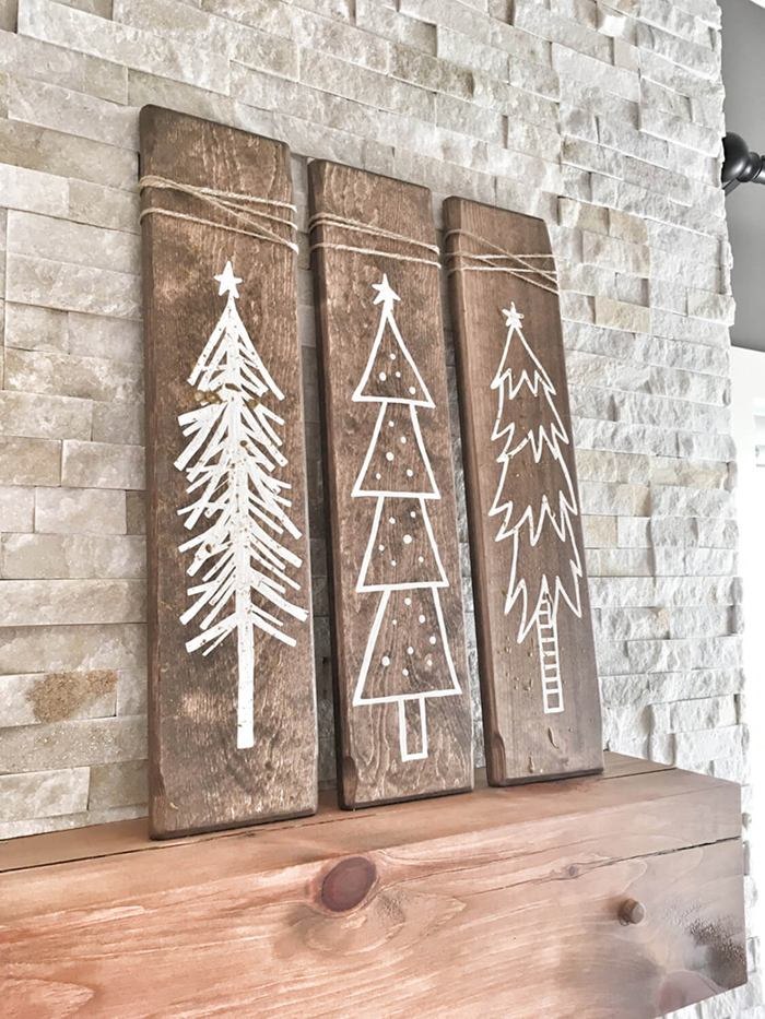 Christmas-Rustic-Wooden-Home-Decor-Ideas