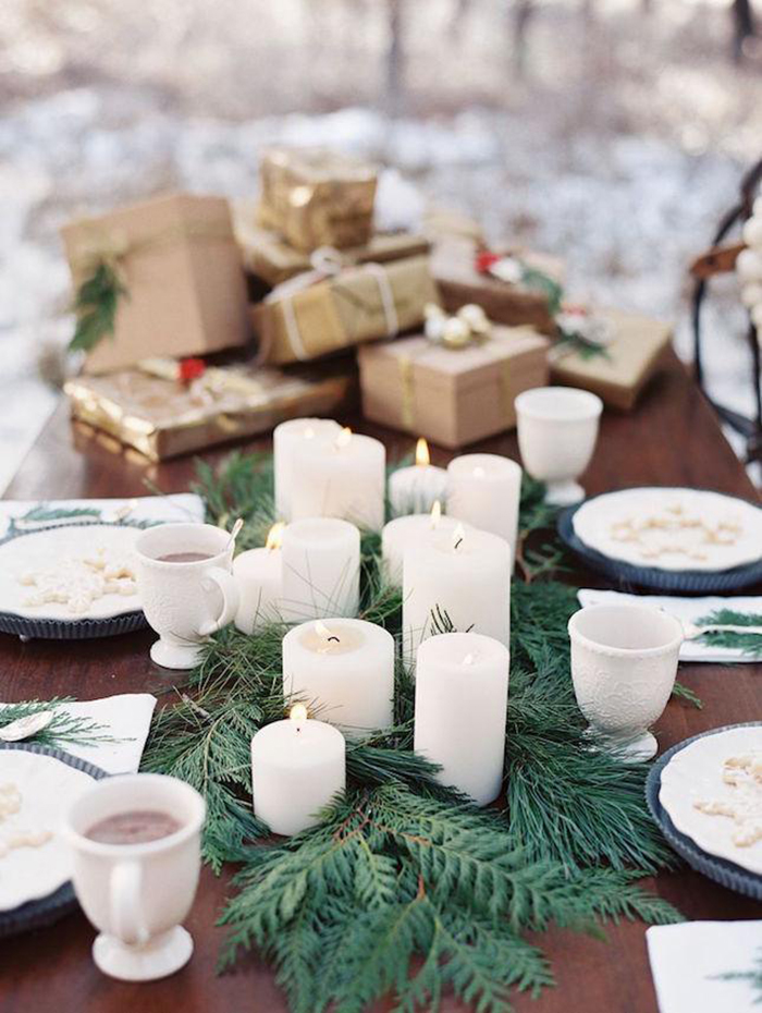 Christmas-Table-Decor-Candles