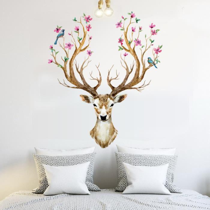 Christmas-Wall-Sticker-Ideas
