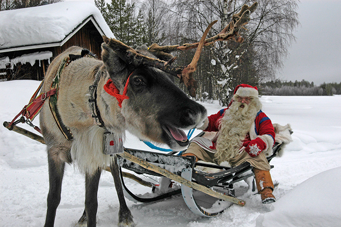 Christmas-in-Finland-with-santa-Claus