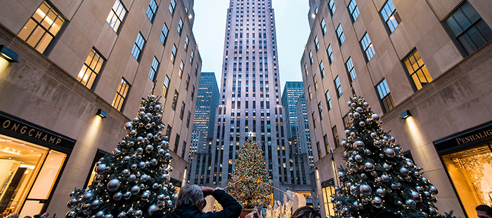 Christmas-in-New-York,-USA