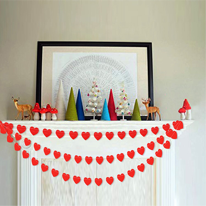 DIY-Heart-Garland-St-Valentines-Day-Home-Decor-Ideas