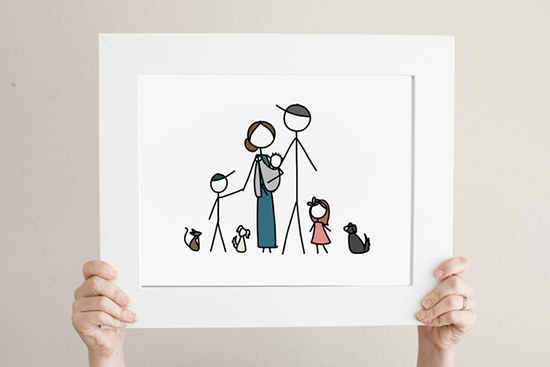 DIY-Home-Decor-Drawing-Ideas