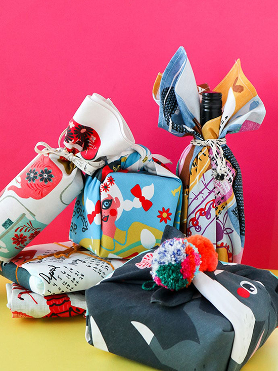 Fabric-Wrapping-Eco-Friendly-Christmas-Gift-Ideas