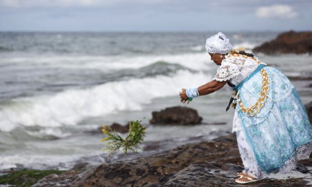 Brazil - Religion - Feast of Yemanja important annual Candomble event