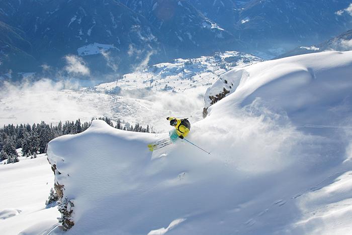 Freeride-Skiing-Style