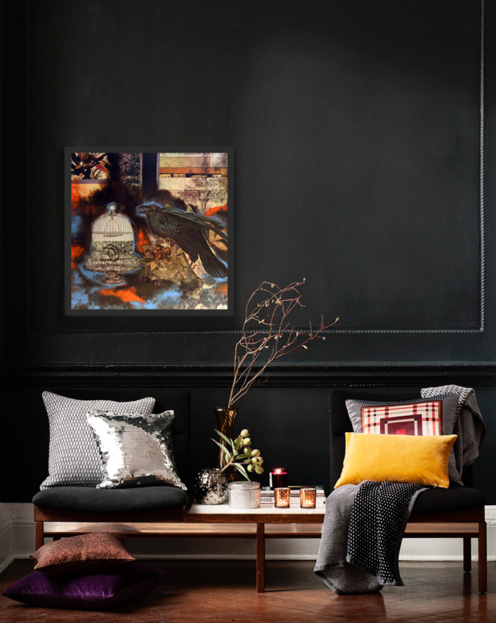 Home-Paint-Colors-Black-Wall