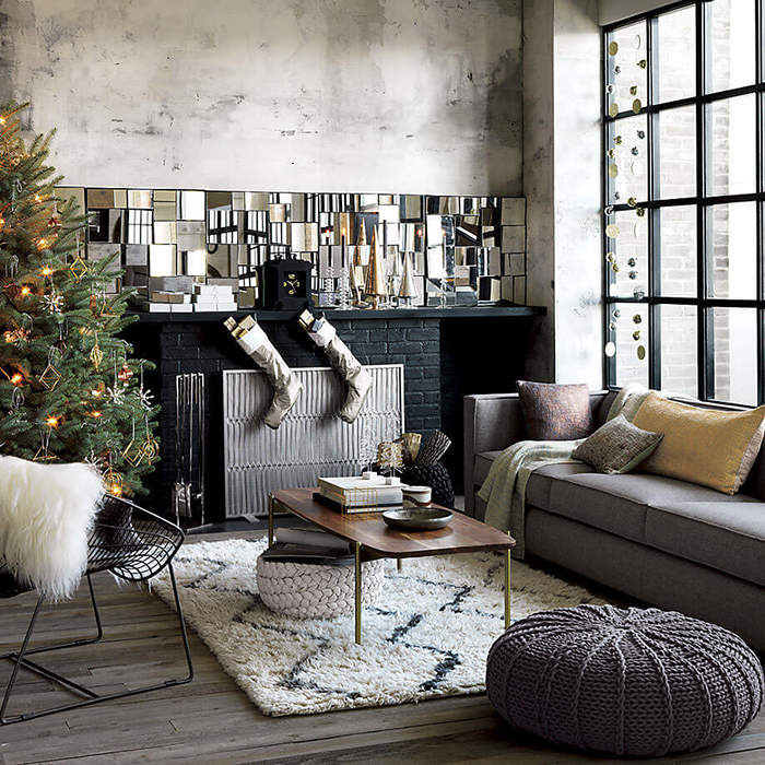 Industrial-Rustic-Style-Christmas-Decor-Ideas